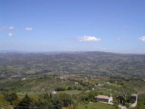 Panorama valle Tappino